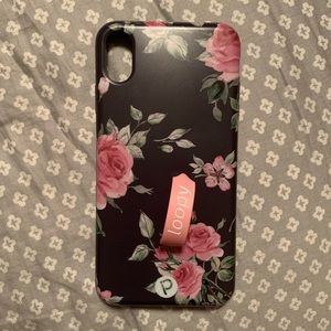 🥀MIDNIGHT ROSE LOOPY CASE FOR IPHONE XS MAX🥀